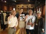 高橋有紀子さんとアセアンファッションウィーク