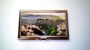 新竹田城跡のカードケース