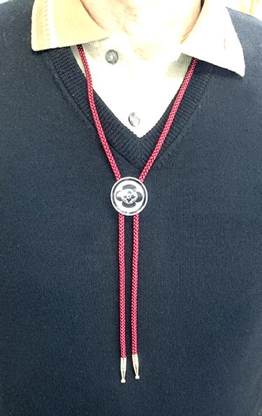 ループタイ 螺鈿の詳細画像