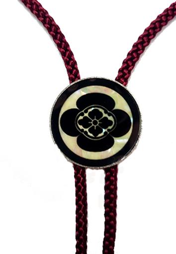 ループタイ   螺鈿の画像